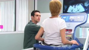How to Become a Physical Therapist in Florida - Patient Using a Zero Gravity Tredmill